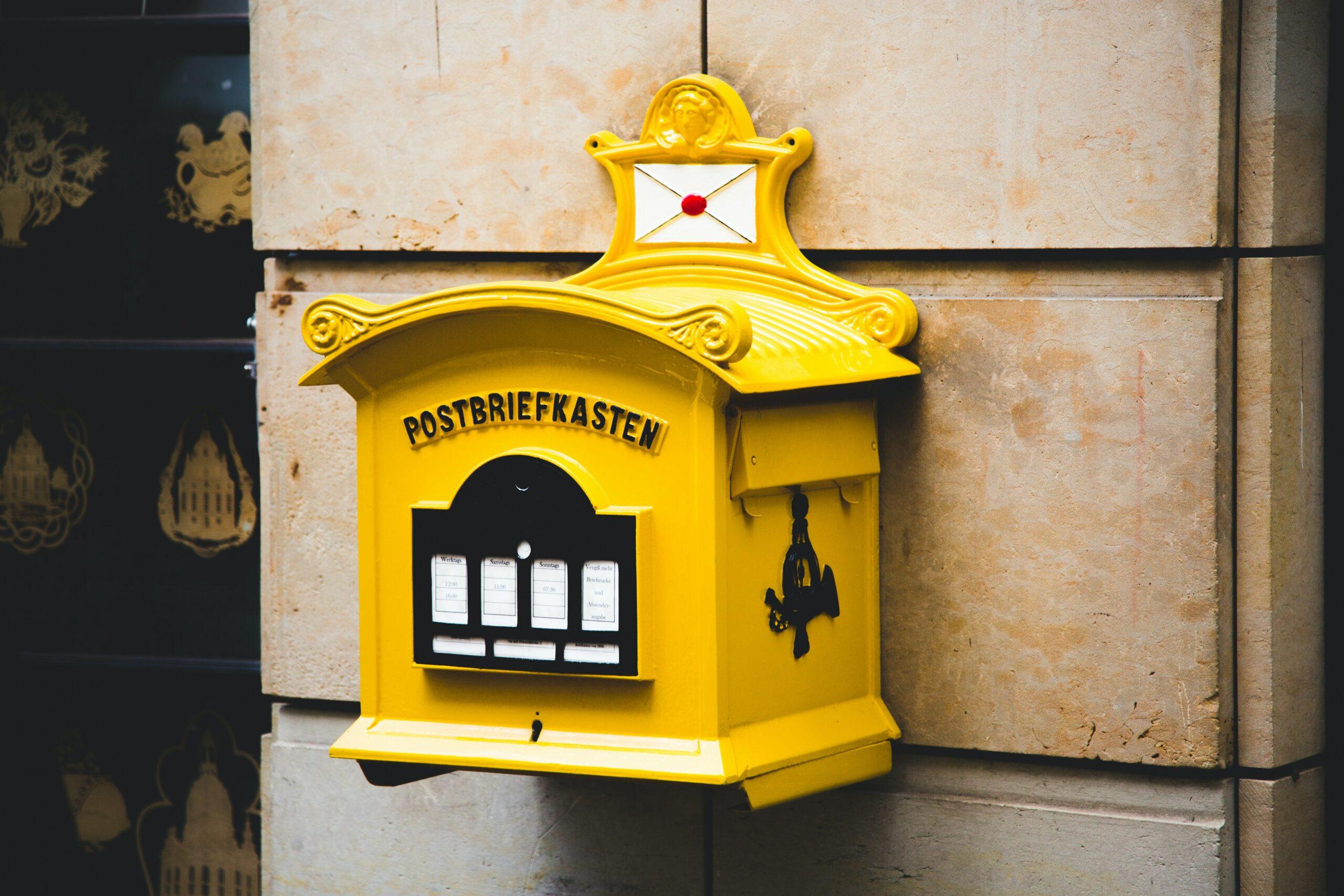 Kontakt Postkasten